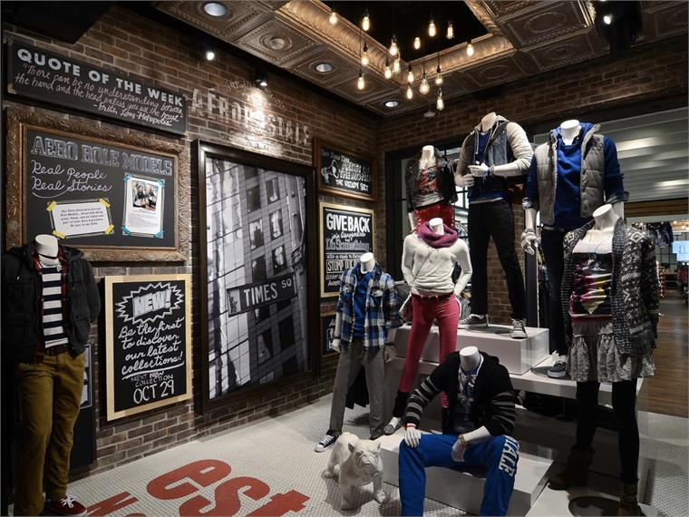 In-Store Tech for Teens: Aeropostale, NY | Stylus | Innovation ...