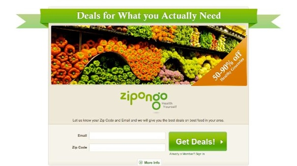 Zipongo: Healthy Food Discounts