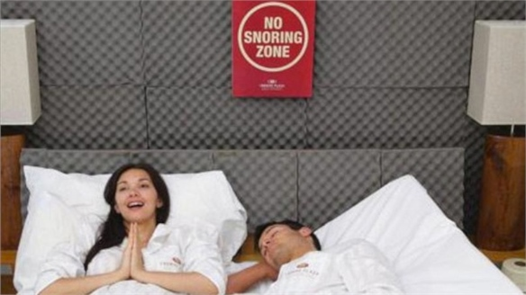 Snore-Free Rooms