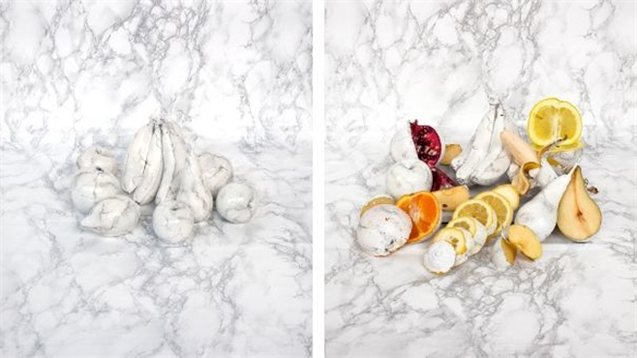 Corey Bartle-Sanderson: Marbleised Fruits