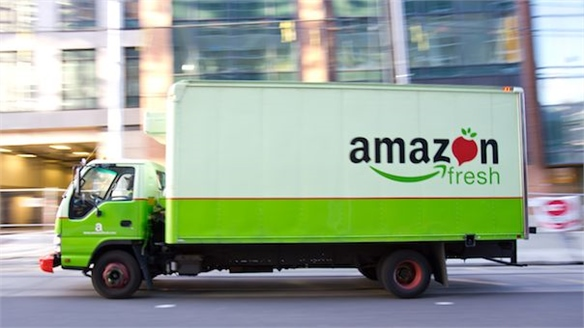 Amazon to Deliver Online Grocery Business