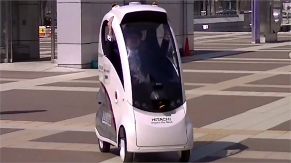 Ropit: Hitachi's Self-Driving Vehicle Concept