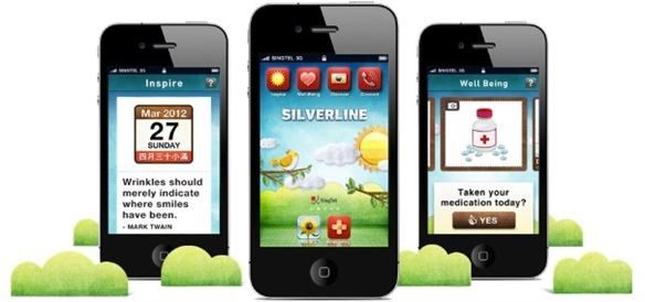 Silverline: Apps for Senior Citizens