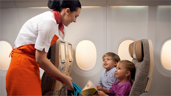 Etihad Airways Offers 'Flying Nannies'