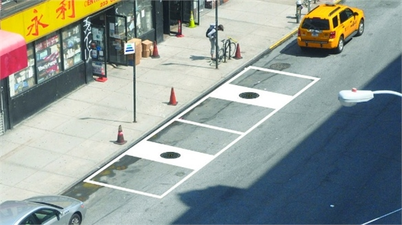 'Manhole Cover' EV Chargers