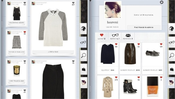 Net-A-Porter Launches Social Shopping App