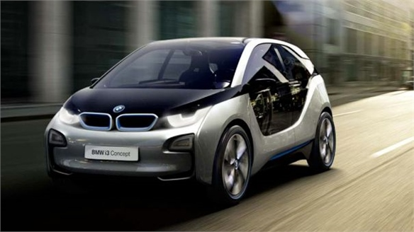 BMW i3 Switches to Carbon Fibre