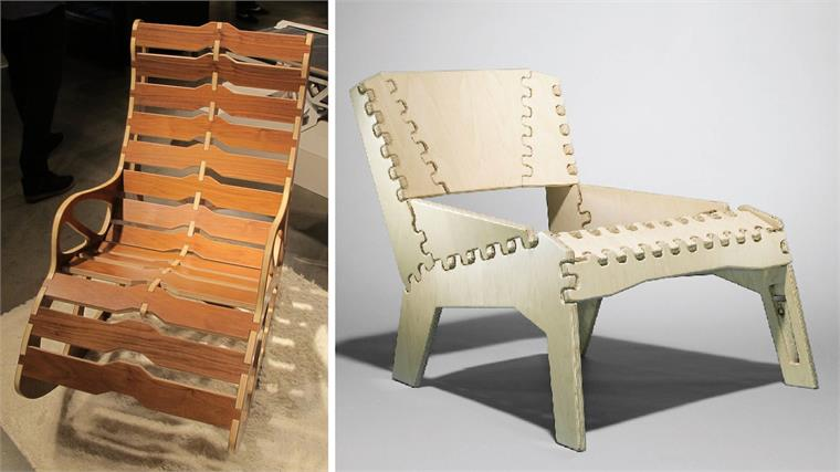 Flat pack designs duori and vera chairs stylus for Flat furniture ideas