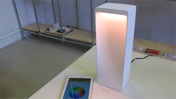 Cromatica: Hackable Light Speaker