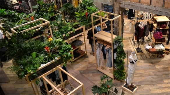 Urban Outfitters' Local Hybrid Store