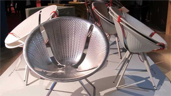 Milan 2014: Ross Lovegrove for Moroso