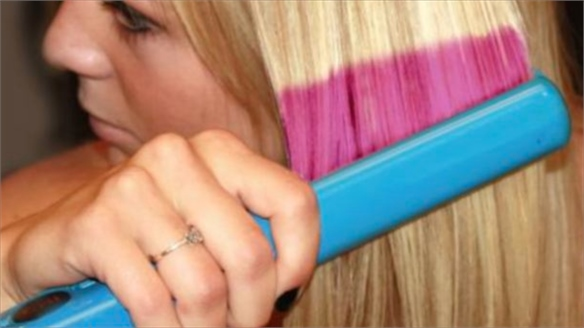 Beauty Developments: Hair-Colouring Flat Irons