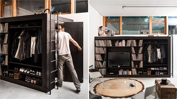 Living Cube for Small Spaces