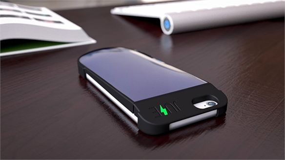 Juse: Solar-Charging Smartphone Case