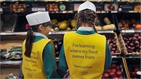 Tesco Teaches Kids About Food