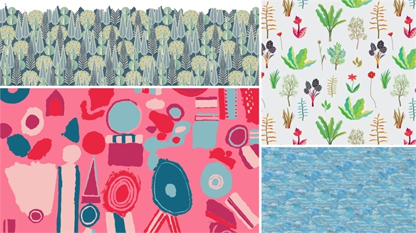 From the Archive: Heal's New Fabrics