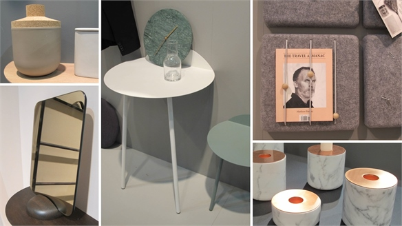 Menu at Maison & Objet 2014