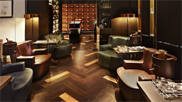 Luxury Tobacconist Reinvented: Dunhill, London