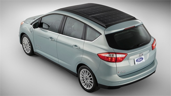 Ford's Solar-Powered Car