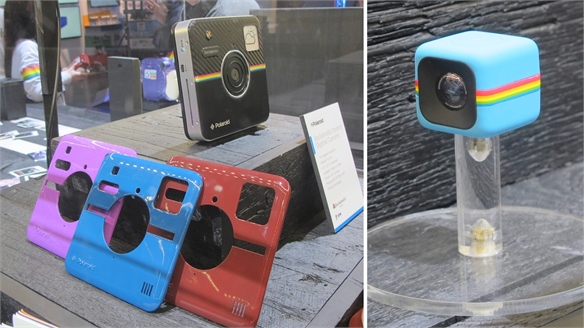 International CES 2014: Polaroid Camera Concepts