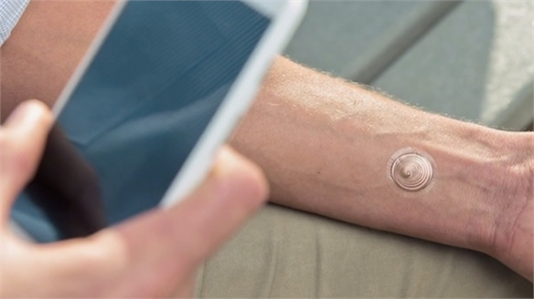 Digital Tattoo Unlocks Phone