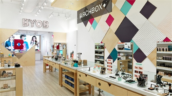 E-Tailer Birchbox's Physical Store
