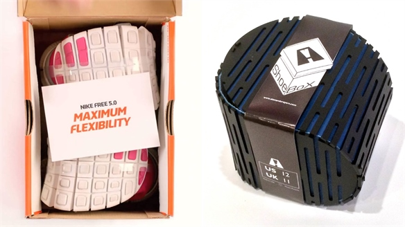 Mini Packaging for Flexible Shoes