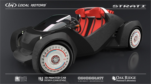 3D-Printed Car Design Challenge