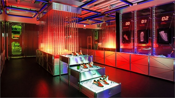 Adidas' Springblade Innovation Lab Pop-Up