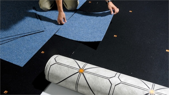 SensFloor: Connected Carpets