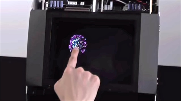 HaptoMime: Touchable Hologram