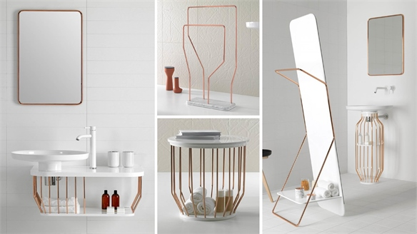 Contemporary Bathroom Furniture by Inbani