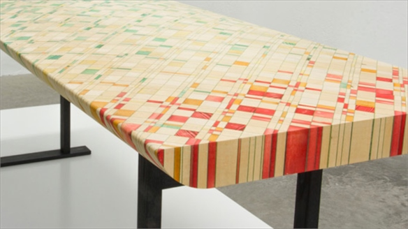 Endgrain Furniture by Raw Edges