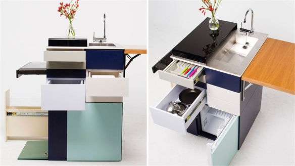 Compact Kitchen by Ana Arana