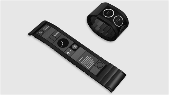 Smartwatch With Bendable Screen
