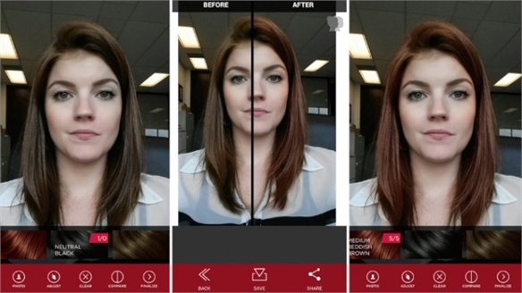 Vidal Sassoon's Try-Before-You-Dye AR App
