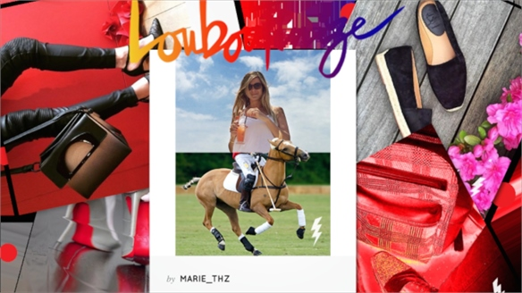 'Louboutinize': Christian Louboutin's Branded Photo Filters
