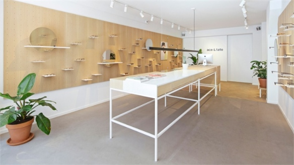 Tactile, Flexible: Ace & Tate Store