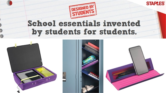 Back to School: Staples x Students