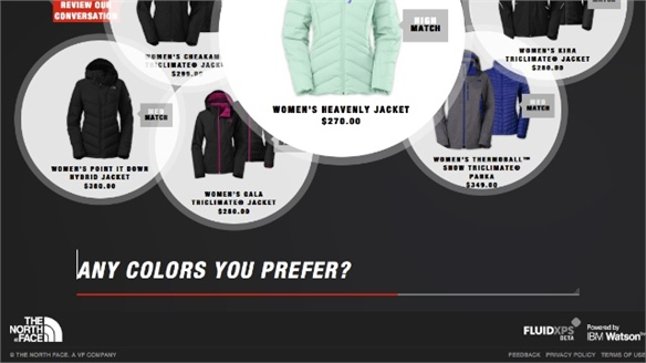 The North Face: AI Personal Shopper
