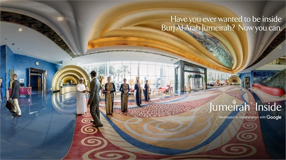 Jumeirah's Interactive Booking Service