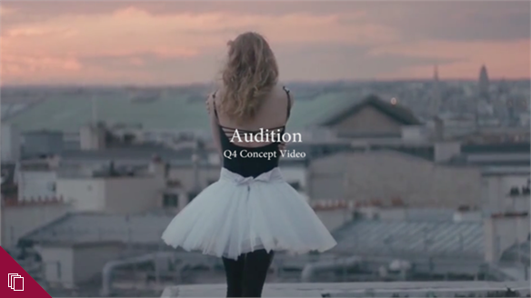 Audition: Autumn/Winter 2016/17