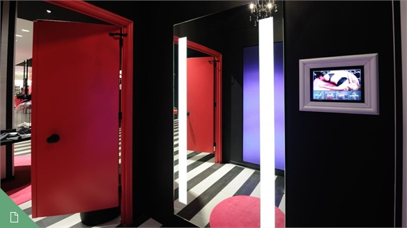 Future-Facing Fitting Rooms