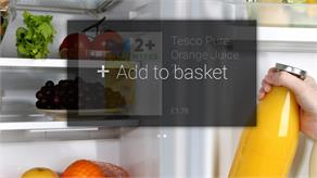 Tesco's Google Glass Shopping App