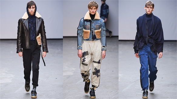 Menswear A/W 15-16: James Long