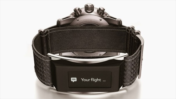 Montblanc Unveils Smart Watch Strap