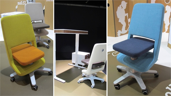 Imm Cologne 2015: Dynamic Children's Seating