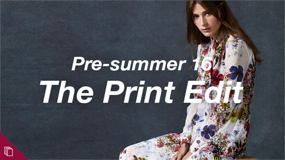 Pre-summer 16: The Print Edit