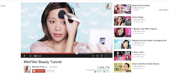 Beauty Boom on YouTube