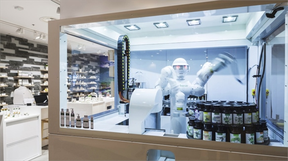 AlpStories' Robotic Beauty Store, Croatia